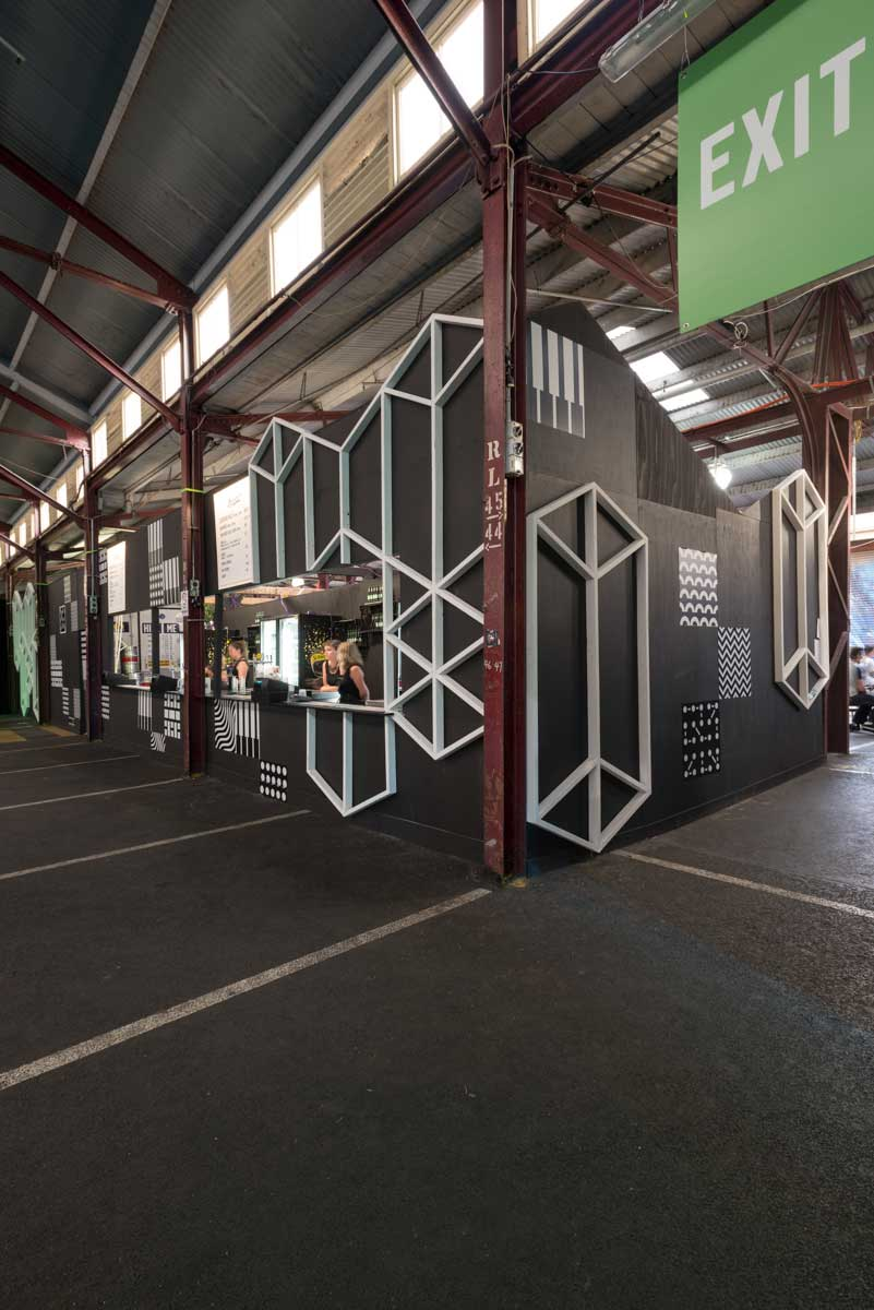 Boarch architect designed event space melbourne music week